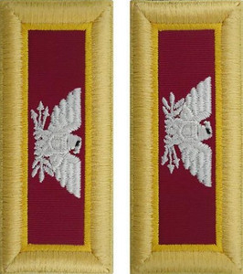 Army Colonel Shoulder Board- Ordnance