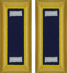 Army First Lieutenant Shoulder Board- Chemical