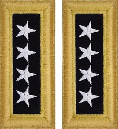 Army General Shoulder Board