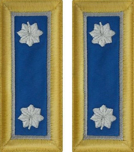 Army Lieutenant Colonel Shoulder Board- Military Intelligence