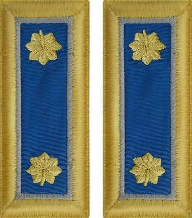 Army Major Shoulder Board- Military Intelligence