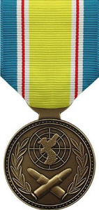 Republic of Korea War Service No Device Medal