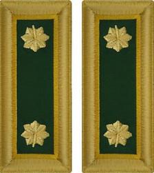 Army Major Shoulder Board- Military Police – female