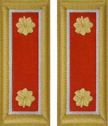 Army Major Shoulder Board- Signal – female