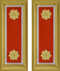 Army Major Shoulder Board- Signal – female