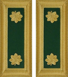 Army Major Shoulder Board- Special Forces