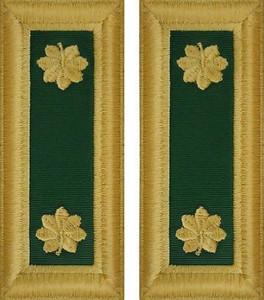 Army Major Shoulder Board- Special Forces