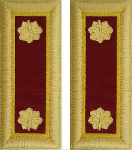 Army Major Shoulder Board- Transportation