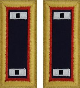 Army Warrant Officer 1 Shoulder Board- Adjutant General – female