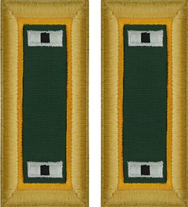 Army Warrant Officer 1 Shoulder Board- Military Police – female