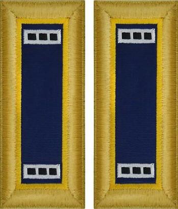 Army Warrant Officer 3 Shoulder Board- Chemical – female