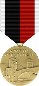 Army and Air Force WWII Occupation Medal
