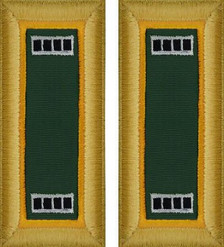 Army Warrant Officer 4 Shoulder Board- Military Police – female