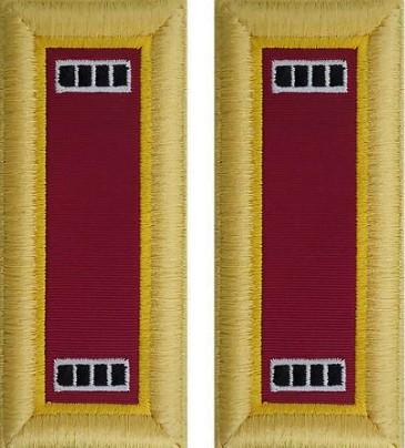 Army Warrant Officer 4 Shoulder Board- Ordnance – female