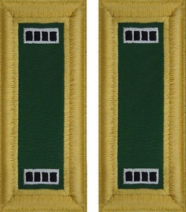 Army Warrant Officer 4 Shoulder Board- Special Forces