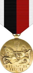 WWII Occupation Navy and Coast Guard Medal