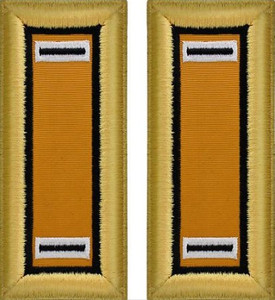 Army Warrant Officer 5 Shoulder Board- Electronic Warfare – female