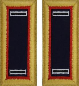 Army Warrant Officer 5 Shoulder Board- Adjutant General – female