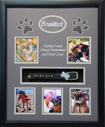 16 x 20 Pet Memorial Shadow Box Frame #3