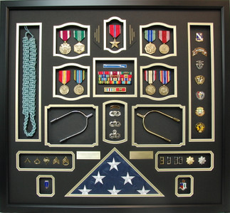 US Army Infantry/Ranger Shadow Box Frame
