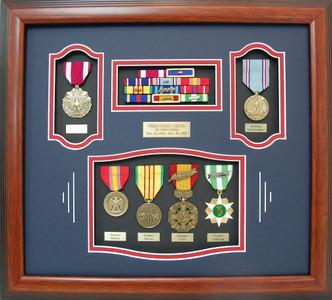 US Air Force Vietnam Shadow Box Display