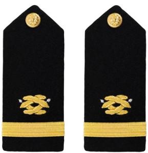 Navy Ensign Hard Shoulder Board- Civil Engineer