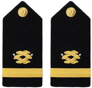 Navy Ensign Hard Shoulder Board- Civil Engineer – female