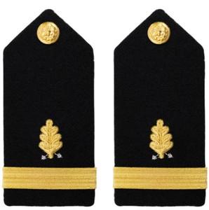 Navy Ensign Hard Shoulder Board- Dental Corps – female