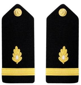 Navy Ensign Hard Shoulder Board- Medical Corps