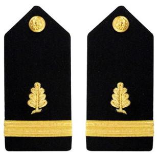 Navy Ensign Hard Shoulder Board- Medical Service – female