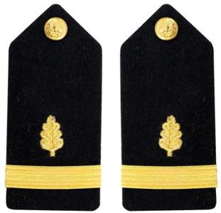 Navy Ensign Hard Shoulder Board- Nurse Corps – female