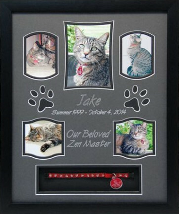 16 x 20 Pet Memorial Shadow Box Frame #8