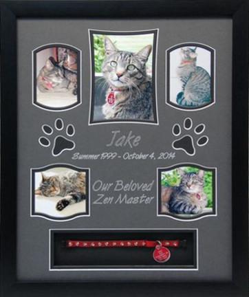 16 x 20 Pet Memorial Shadow Box Frame #8