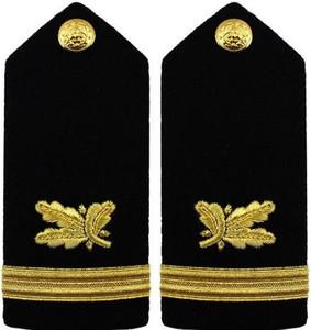 Navy Ensign Hard Shoulder Board- Supply Corps