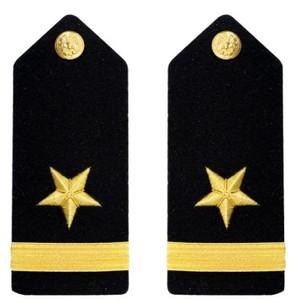 Navy Ensign Hard Shoulder Board- Line