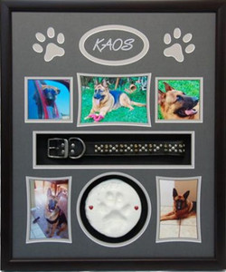 20 x 24 Pet Memorial Shadow Box Frame #1