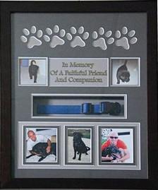 16 x 20 Pet Memorial Shadow Box Frame #11