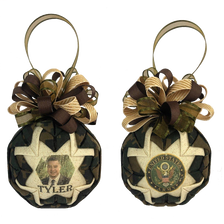 Custom Photo Holiday Ornament