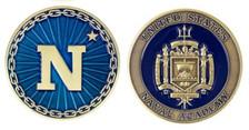 "Navy Coin 2"" US Naval Academy"