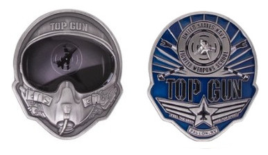 Navy Coin Top Gun Helmet