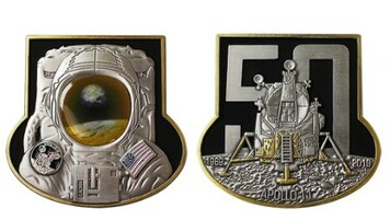 Apollo 11 50th Anniversary Coin
