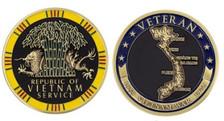"Vietnam Veteran Memorial Coin 2"""