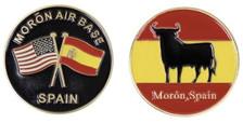 Moron Air Base, Moron Spain Coin