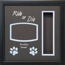 13 x 13 Pet Memorial Shadow Box Frame #3