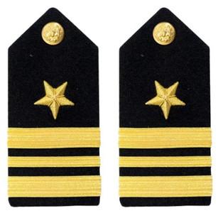 Navy Lieutenant Commander Hard Shoulder Board- Line