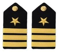 Navy Commander Hard Shoulder Board- Line