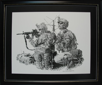 In the Field Drawing Display Frame