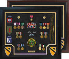 "20"" x 24"" Cavalry Open Shadow Box Display"