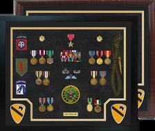 "20"" x 24"" Cavalry Open Shadow Box Display"