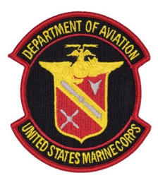 Marine Corps Patch USMC Department of Aviation